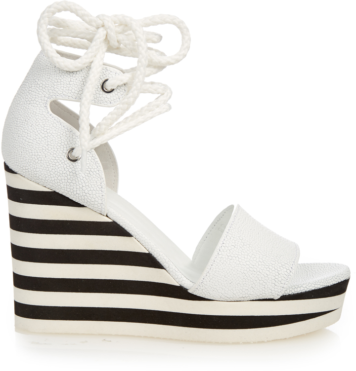 Max Mara MAX MARA Austin wedge sandals