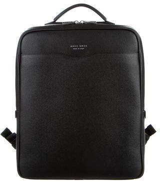 Hugo BossHugo Boss Signature Leather Backpack w/ Tags
