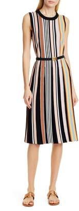 Tory Burch Stripe Sweater Dress