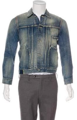 Visvim Denim Button-Up Jacket