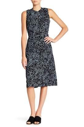 Joe Fresh Tie Waist Printed Dress