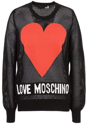 Love Moschino OFFICIAL STORE Long sleeve sweater