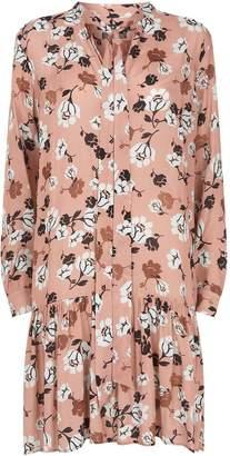 SET Floral Pussybow Dress