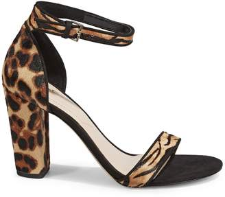 Aldo Leather Heeled Sandals