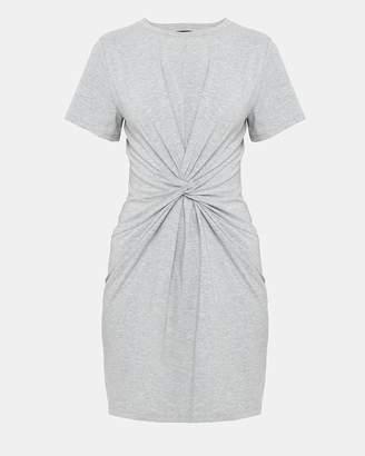Theory Cotton-Modal Knot Tee Dress