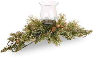 National Tree Company Artificial Pine Candle Holder