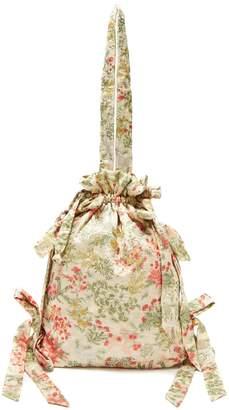 Simone Rocha Floral-jacquard cotton blend bag