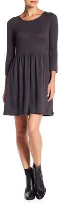 Collective Concepts Sweater Knit 3\u002F4 Length Sleeve Dress