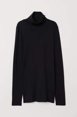 H&M Turtleneck Top - Black