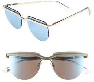 Women's Le Specs Mafia Moderne 52Mm Rimless Sunglasses - Brushed Gold $89 thestylecure.com