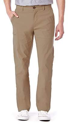 UNIONBAY Men's Rainier Lightweight Comfort Travel Tech Chino Pants,32x30