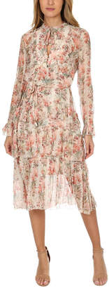 Zimmermann Folly Neck Tie Dress