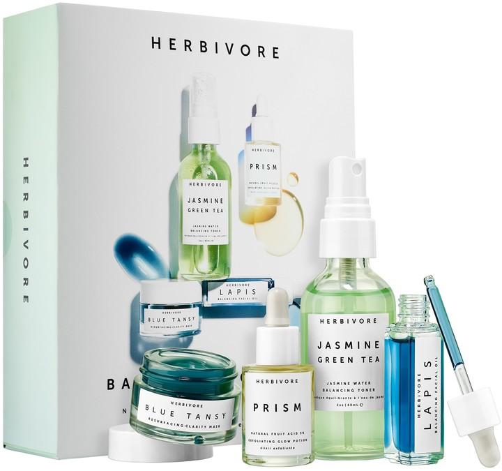 Herbivore - Balance + Clarify Natural Skincare Mini Collection