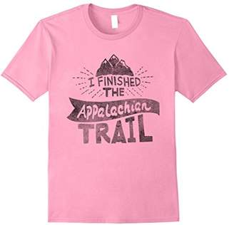 I Finished The Appalachian Trail T-Shirt - black used look