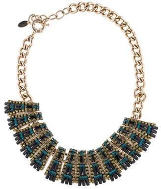 Elizabeth Cole Embellished Collar Necklace