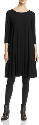 Eileen Fisher Jersey Trapeze Dress $188 thestylecure.com