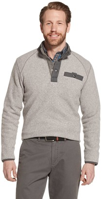 G.H. Bass Men's Arctic Terrain Polar Fleece Mockneck Pullover