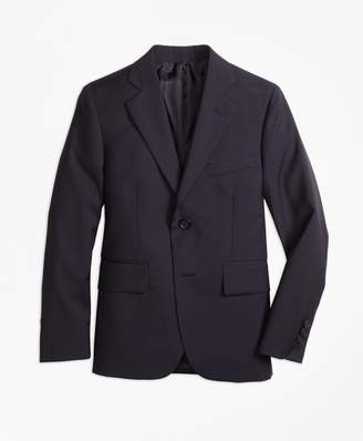 Brooks Brothers Boys Two-Button Wool Pinstripe Jacket