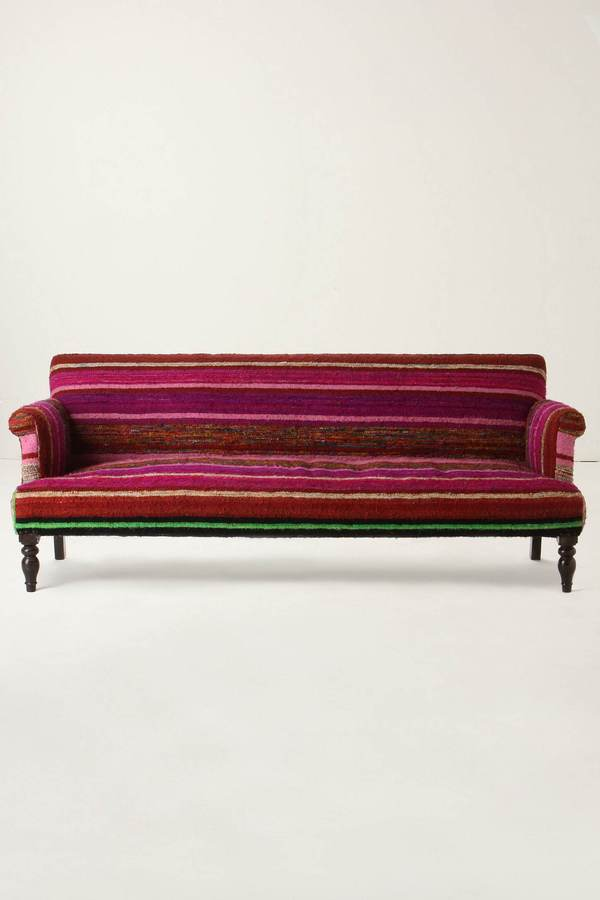 Striped Kilim Sofa