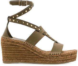 Jimmy Choo Danica 80 wedge sandals
