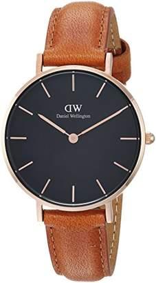Daniel Wellington Women's Analogue Quartz Watch with Leather Strap DW00100166