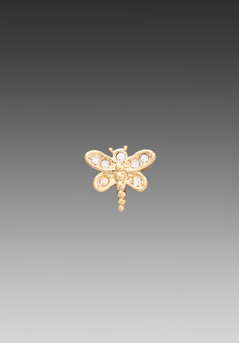 Juicy Couture Dragonfly Stud Earring
