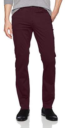 Perry Ellis Men's Slim Fit Stretch Five Pocket Satin Pant