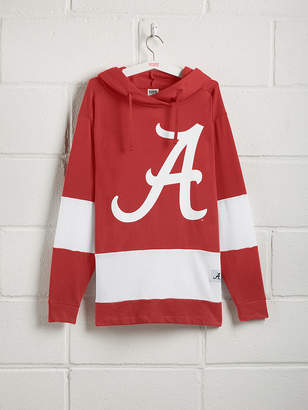 PINK University of Alabama Colorblock Crossover Tunic