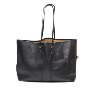 Saint Laurent Easy Black Leather Handbag