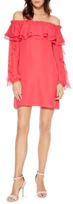 Parker Isa Combo Silk Dress