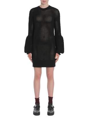 McQ Mesh Knit Dress