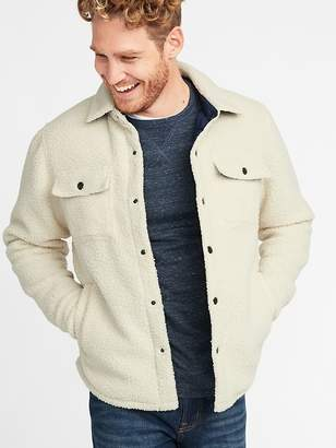 Old Navy Sherpa Shirt Jacket for Men