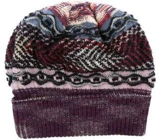 Missoni Wool-Blend Knitted Beanie