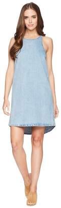 Lucky Brand Button Back Dress Women's Dress