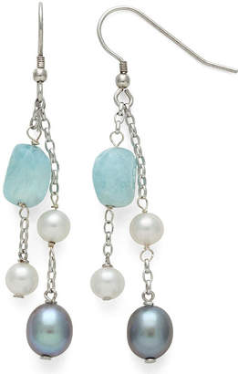 FINE JEWELRY Genuine Blue Aquamarine Drop Earrings
