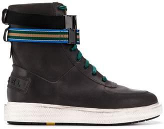 Diesel ankle straps hi-top sneakers