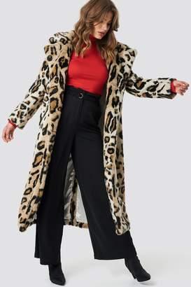 Na Kd Trend Leo Faux Fur Coat
