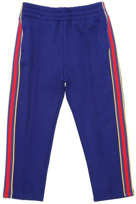 Gucci Web Side Bands Cotton Blend Sweatpants