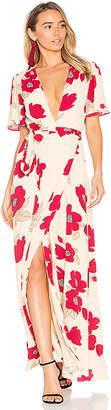 Privacy Please Kimono Dress in Beige $238 thestylecure.com