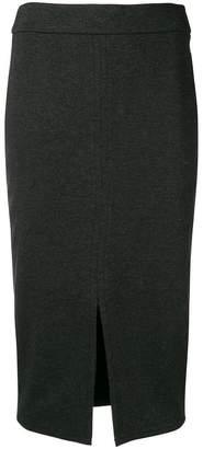 Peserico front slit skirt