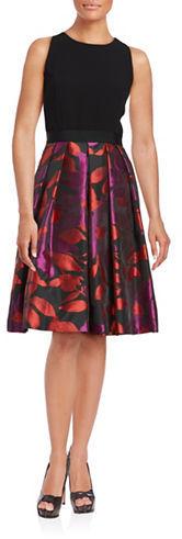 Carmen Marc ValvoCarmen Marc Valvo Floral Printed Dress