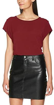 Only Women's onlVIC S/S Solid TOP NOOS WVN T-Shirt