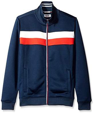 Tommy Hilfiger Men's Long Sleeve Zip Front Track Jacket