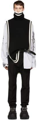 D.gnak By Kang.d Black Stripe Vest