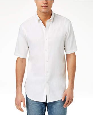 Club Room Men's Linen Shirt, Created for Macy's