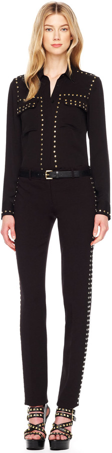 Michael Kors Studded Slim Pants