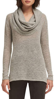 DKNY Classic Cowlneck Sweater