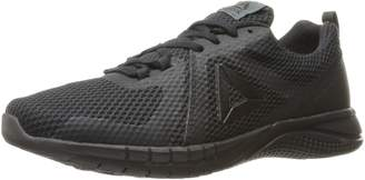 Reebok Men's Print Run 2.0 Running Shoes, Black/Coal