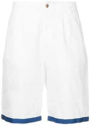 Kent & Curwen contrast trim chino shorts