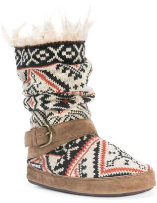 Muk Luks Women's Lisen Light Tan Slipper